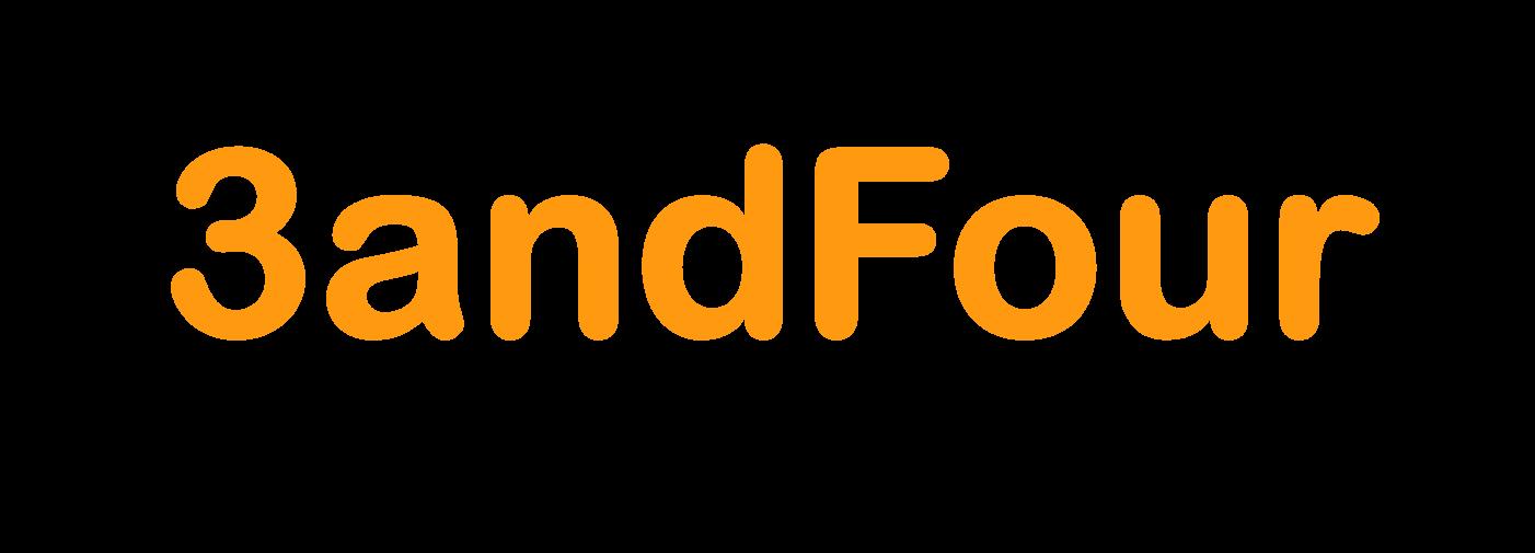 3andfour Logo